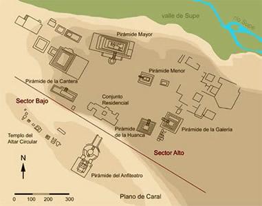 Karte der Stadt