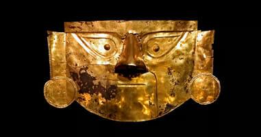 Lambayeque Gold Maske
