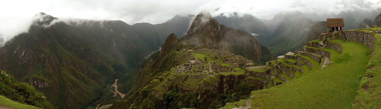 Panorama Macchu Picchu