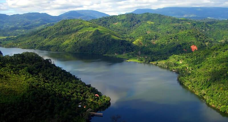 Tarapoto die Stadt der Palmen im Amazonas von Peru