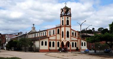 Iglesia Matriz Contamana Loreto