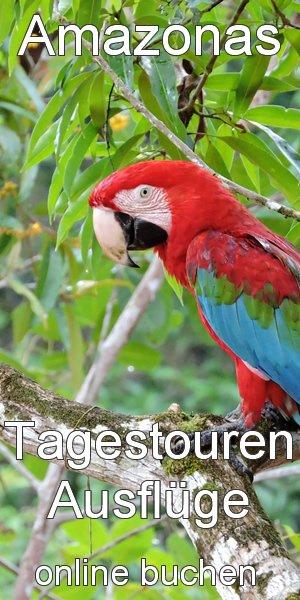 Amazonas Ausflüge Touren