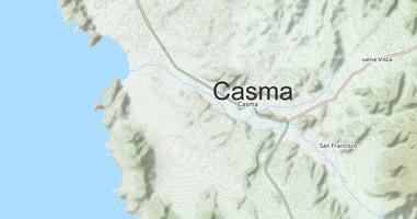 Karte Anreise Casma