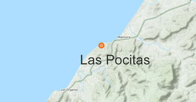 Karte Anreise Las Pocitas
