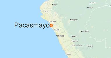 Karte Anreise
