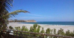 Lorganos Beach - Blick auf den Strand