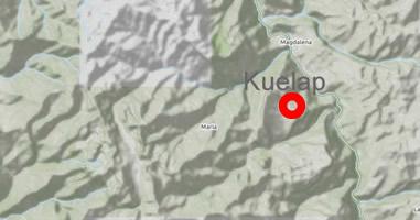 Karte Anreise Kuelap Peru