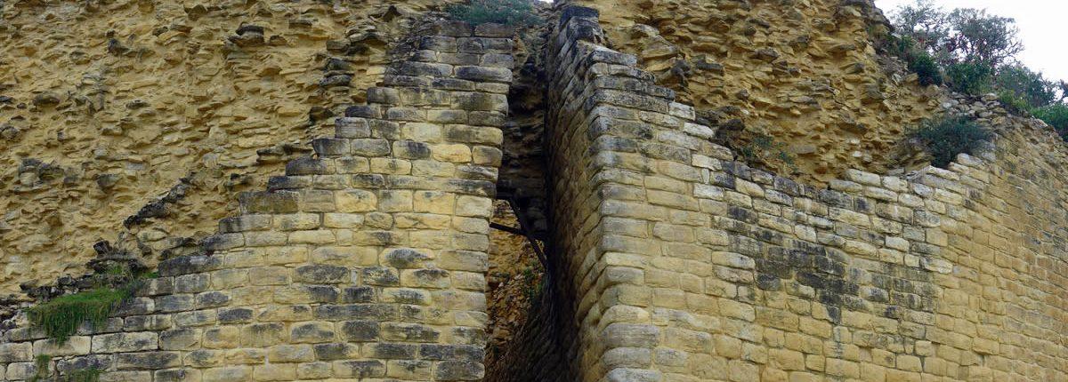 Kuelap Eingang zur Festung