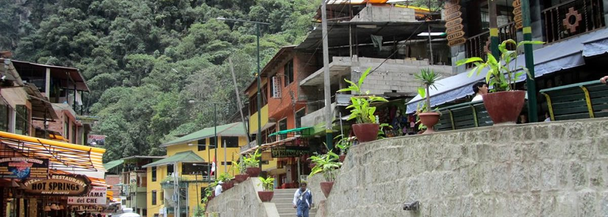 Aguas calientes Zugstation