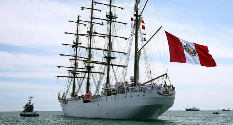 BAP Unión Segelschiff Callao
