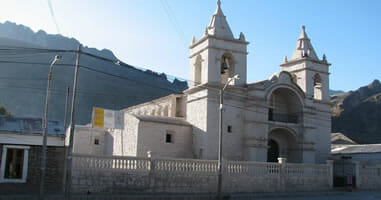 Chivay Kirche