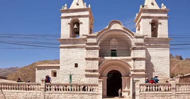 Chivay Peru Kirche