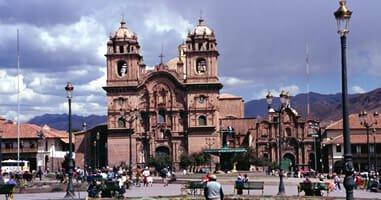 Cusco Jesuitenkirche Plaza de Armas