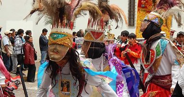 Festival in Cusco Peru