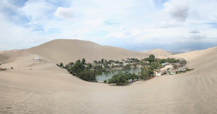 Huacachina – eine Oase inmitten der peruanischen Wüste