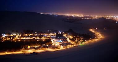 Huacachina Nachts