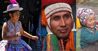 Menschen in Cusco