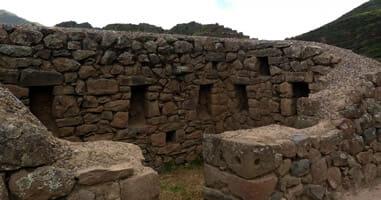 Ruinas de Pisaq nahe Cuzco
