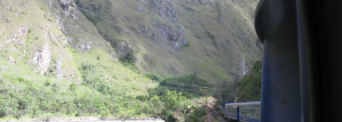 Zug nach Aguas Calientes