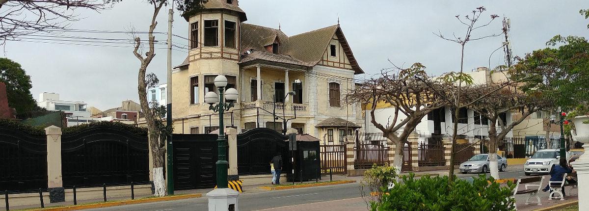 Alte Gebäude in Barranco