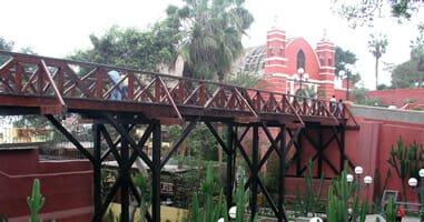 Barranco Brücke der Verliebten