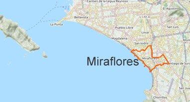 Miraflores Karte