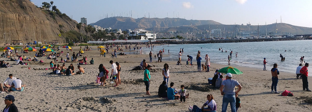 Lima Miraflores Strand