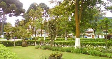 Parque principal de Oxapampa