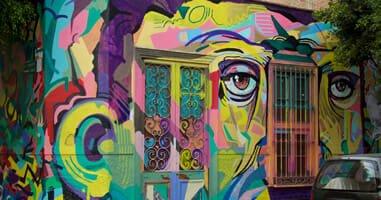 Peru Lima Barranco Street Art