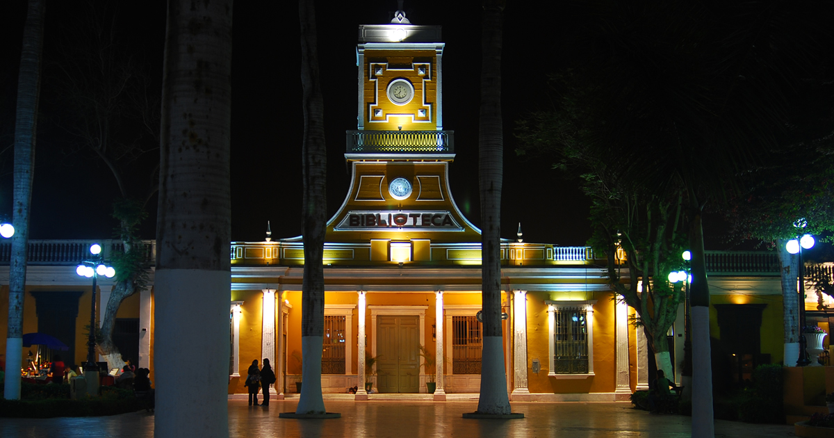 Plaza en Barranco