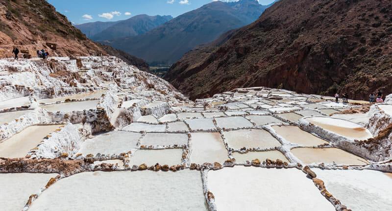 Salzpfannen in Maras