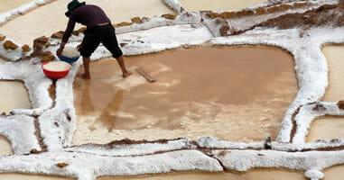 Salzpfannen in Peru