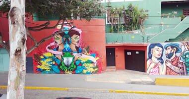 Strassenkunst Barranco