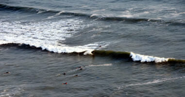 Surfer in Miraflores Lima