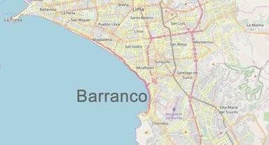 Barranco Lima Karte Anreise