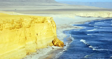 Die Küste von Paracas