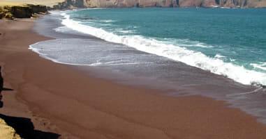 Paracas Strand Playa Roja