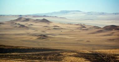 Wüste von Paracas Peru