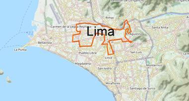 Karte Hauptstadt