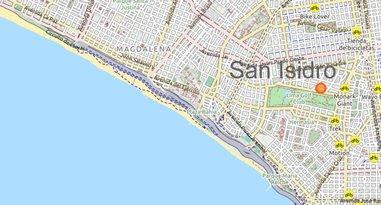 San Isidro Karte