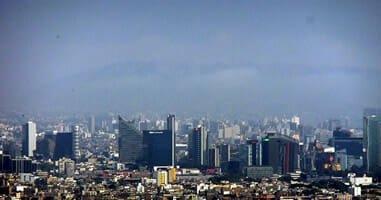 Skyline San Isidro Lima Peru