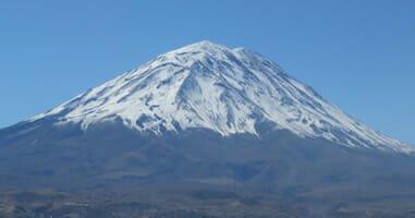 Arequipa Misti Vulkan