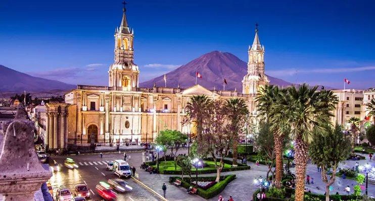 Arequipa die weisse Stadt