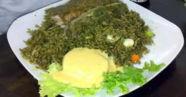 Aroz con pato - kreolisches Gericht