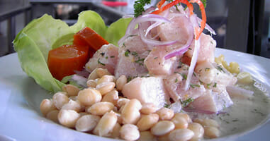 Nationalgericht Peru Ceviche