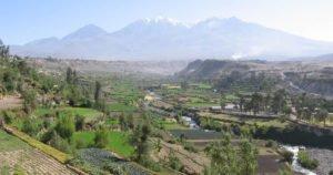 Im Tal der Vulkane von Arequipa