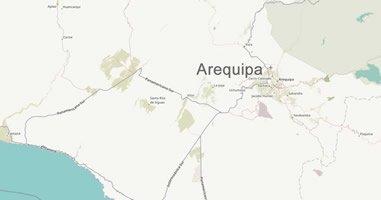 Karte Anreise Arequipa Peru