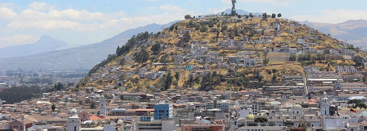 Quito-hauptstadt Ecuador