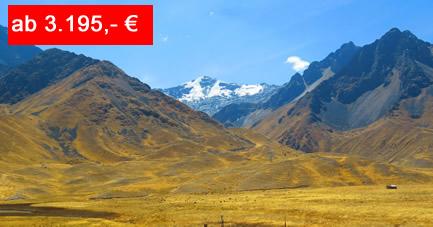 Reiseangebot Aktivreise Peru die Naturschaetze im Sueden