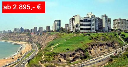Reiseangebot Peru Clasico - die klassische Rundreise Lima